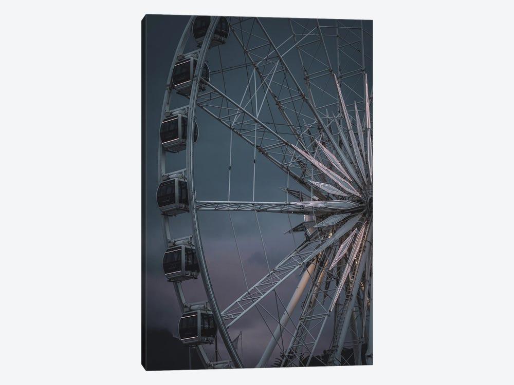 The Wheel Is Turning by Design Fabrikken 1-piece Canvas Artwork