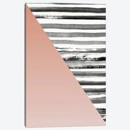 Triangle I Canvas Print #FBK454} by Design Fabrikken Art Print
