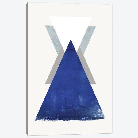 Triangle II Canvas Print #FBK455} by Design Fabrikken Canvas Print