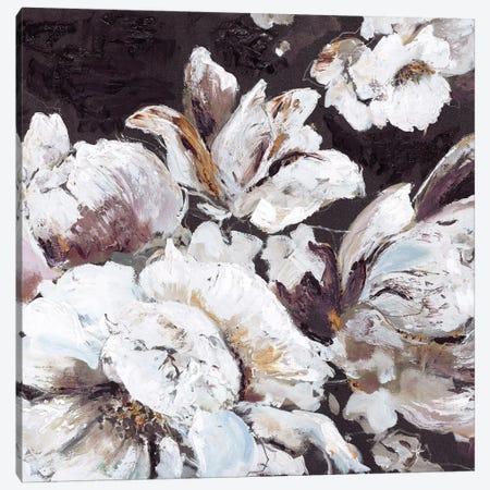 Dark Flower Canvas Print #FBK46} by Design Fabrikken Canvas Art