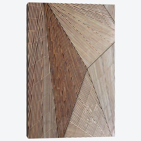 Wooden Structure Canvas Print #FBK480} by Design Fabrikken Art Print