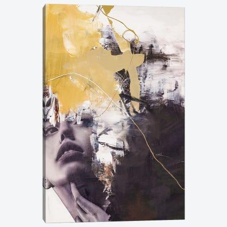 Yellow Era II Canvas Print #FBK483} by Design Fabrikken Canvas Art Print