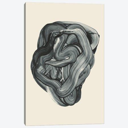 Brushed III Canvas Print #FBK485} by Design Fabrikken Canvas Artwork