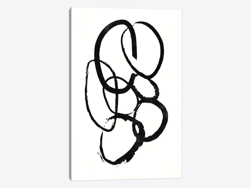 Linked I by Design Fabrikken 1-piece Canvas Wall Art