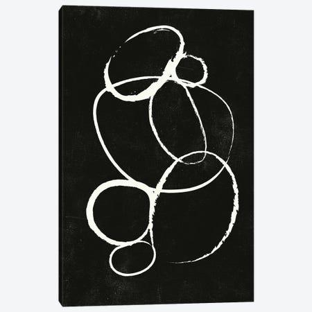 Linked II Canvas Print #FBK487} by Design Fabrikken Canvas Wall Art