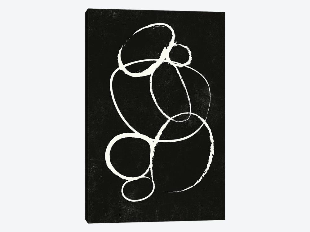 Linked II by Design Fabrikken 1-piece Canvas Art Print