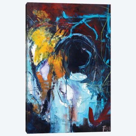 Eye of the Storm Canvas Print #FBK50} by Design Fabrikken Canvas Artwork
