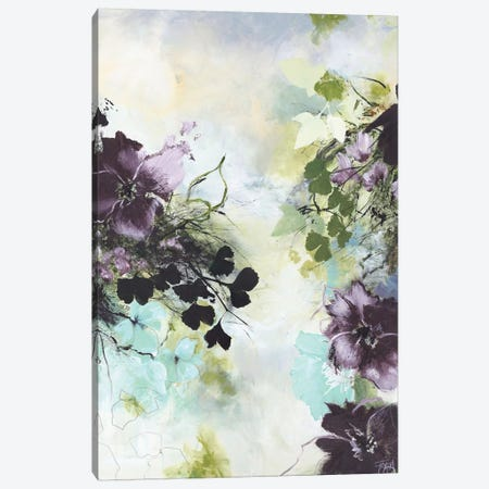 Flower Blush II 3-Piece Canvas #FBK53} by Design Fabrikken Canvas Artwork