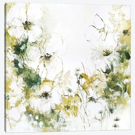 Flower Blush III Canvas Print #FBK54} by Design Fabrikken Canvas Print