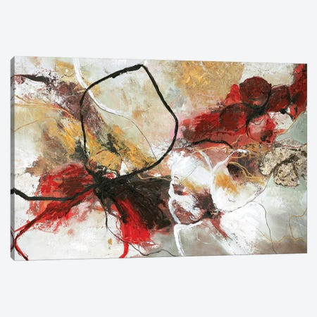 Flower Fall 3-Piece Canvas #FBK55} by Design Fabrikken Art Print