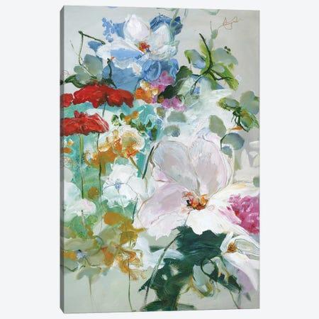 Flower Varity I Canvas Print #FBK56} by Design Fabrikken Art Print
