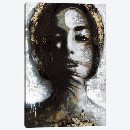 Golden Madonna Canvas Print #FBK60} by Design Fabrikken Canvas Art Print