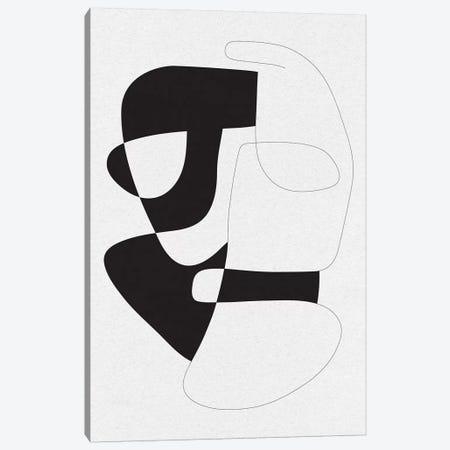 Graphical III Canvas Print #FBK62} by Design Fabrikken Canvas Art Print