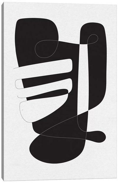 Graphical IV Canvas Art Print