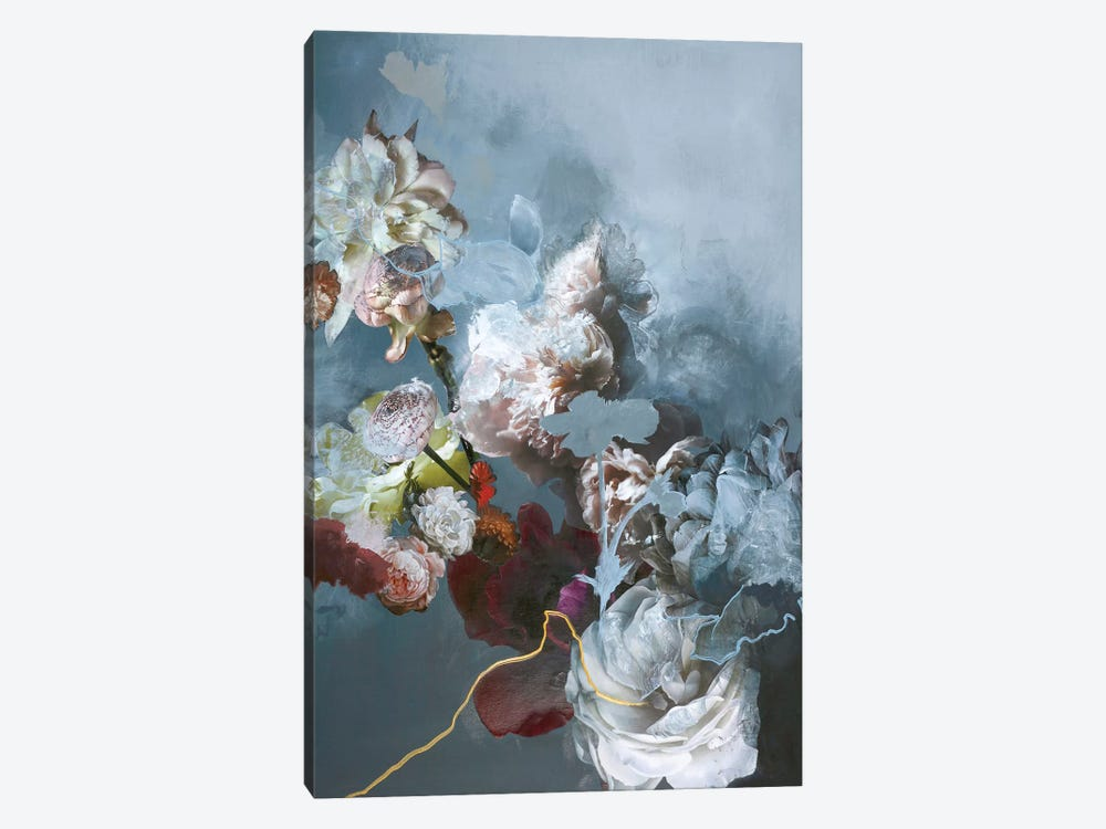 Haute Couture Blue by Design Fabrikken 1-piece Canvas Wall Art