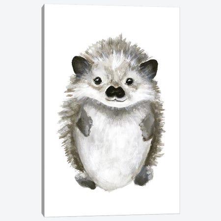Little Hedgehog Canvas Print #FBK80} by Design Fabrikken Art Print