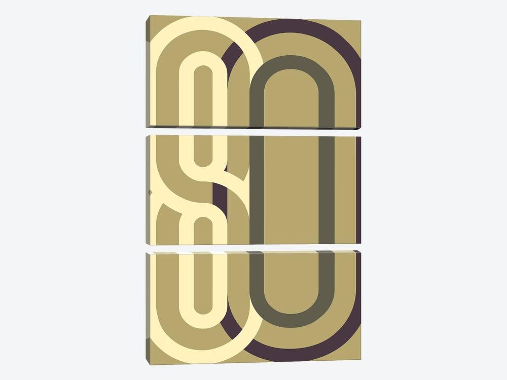 Numbers II by Design Fabrikken 3-piece Canvas Art