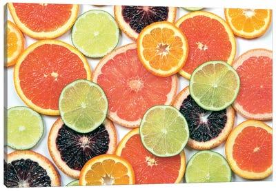 Sunny Citrus IV Canvas Art Print