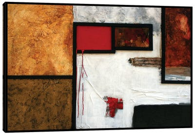 La Villa dei Misteri Canvas Art Print