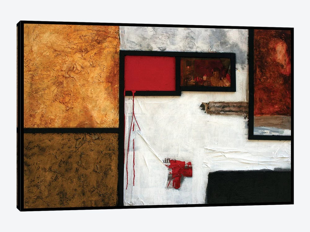 La Villa dei Misteri by Francesco D'Adamo 1-piece Canvas Wall Art