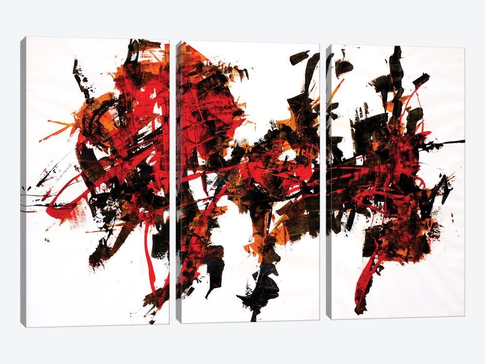 Synesthesia III by Francesco D'Adamo 3-piece Canvas Art Print