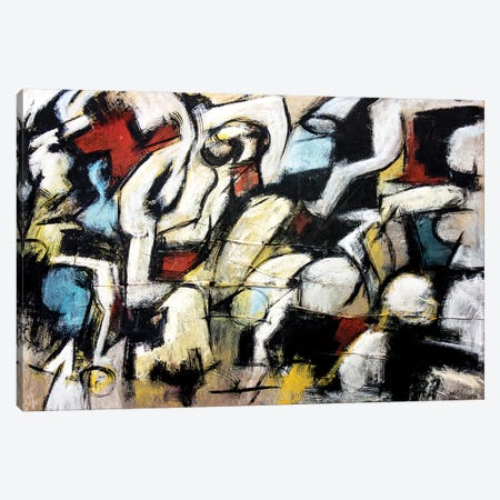 Dispetto (Homage to de Kooning) Canvas Print #FDA3} by Francesco D'Adamo Canvas Wall Art