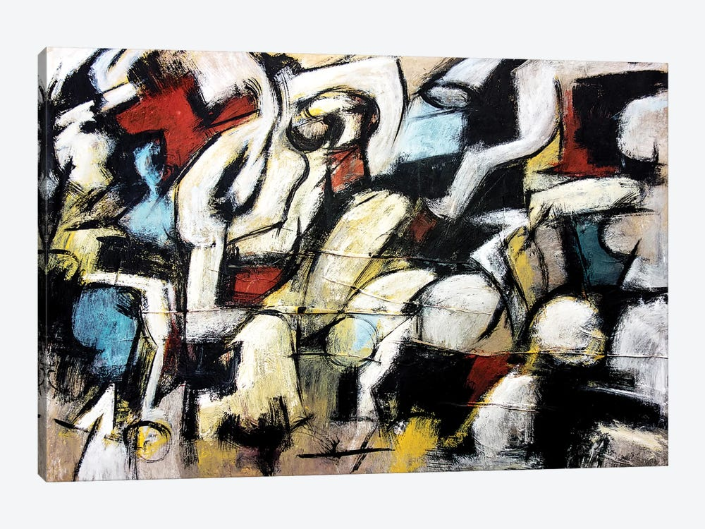 Dispetto (Homage to de Kooning) by Francesco D'Adamo 1-piece Canvas Art