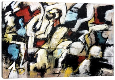 Dispetto (Homage to de Kooning) Canvas Art Print