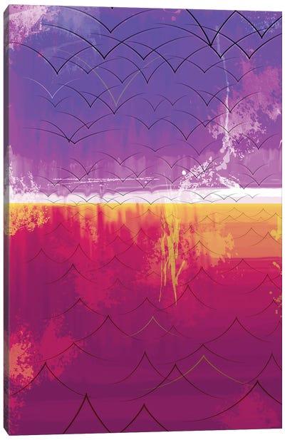 The Edge Of The World, 2014 Canvas Art Print
