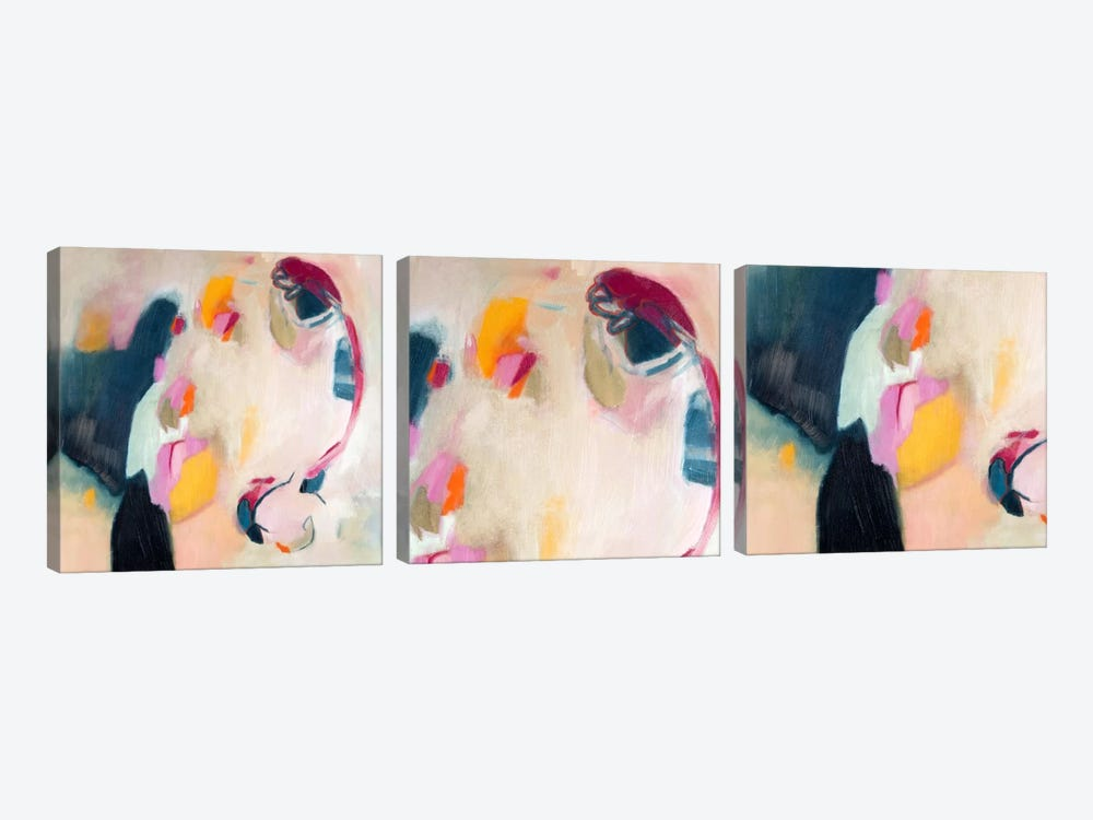 Bundled Parallels Triptych by 5by5collective 3-piece Canvas Wall Art