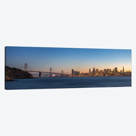 San Francisco Canvas Print #FEG5} by Fegari Canvas Artwork