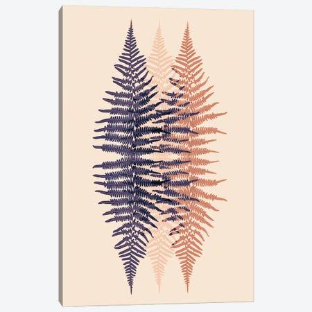Late Sunset Fern Pattern Canvas Print #FEN104} by Alyson Fennell Art Print