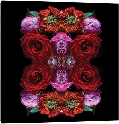 Paradise Of Petals Canvas Art Print