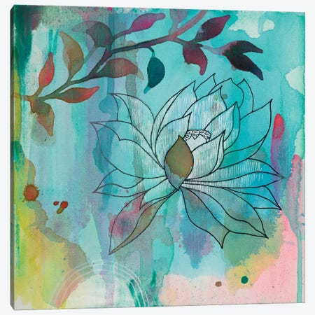 Cool Bloom I Canvas Print #FES11} by Faith Evans-Sills Canvas Print