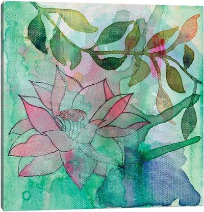 Cool Bloom II Canvas Art Print