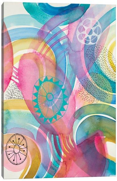 Joyful I Canvas Art Print