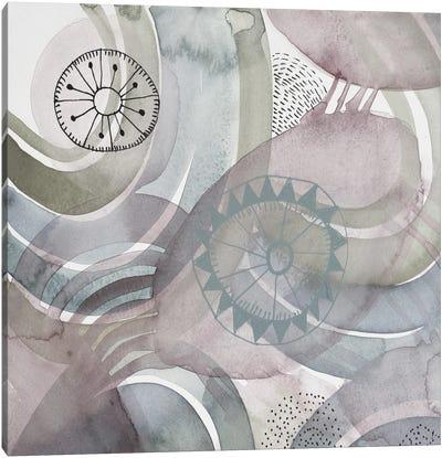 Joyful Rings I Canvas Art Print