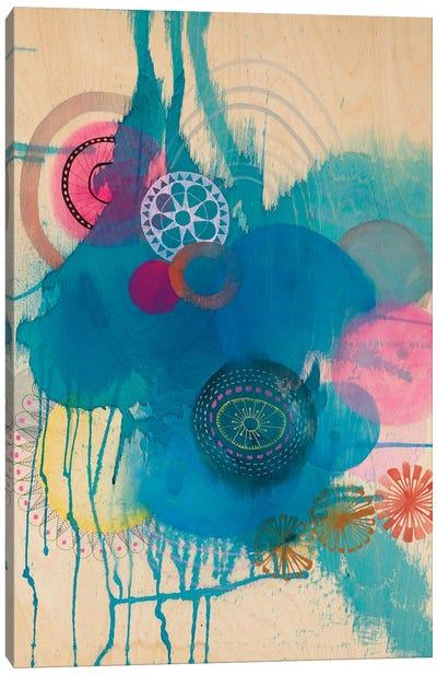 Polyblue Canvas Art Print