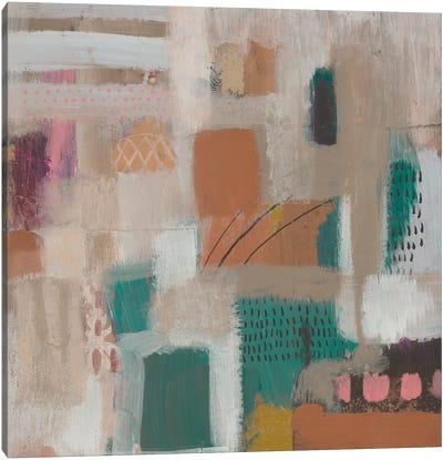 Abstract City I Canvas Art Print