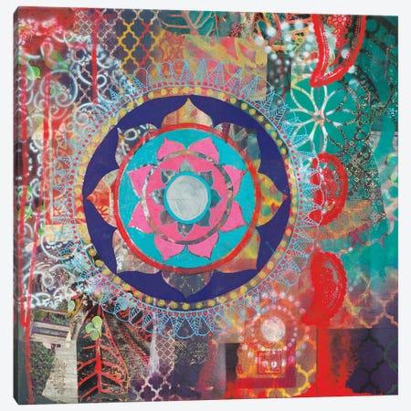 Spherical Dark Canvas Print #FES35} by Faith Evans-Sills Canvas Artwork