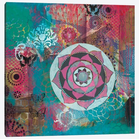 Star Rondure II Canvas Print #FES43} by Faith Evans-Sills Canvas Wall Art