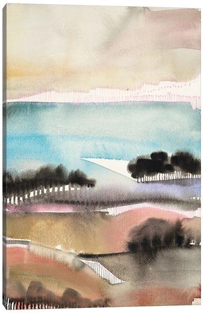 Sunrise Valley Canvas Art Print