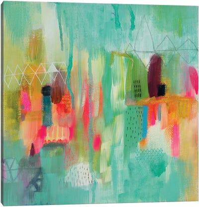 Xploding Spring I Canvas Art Print