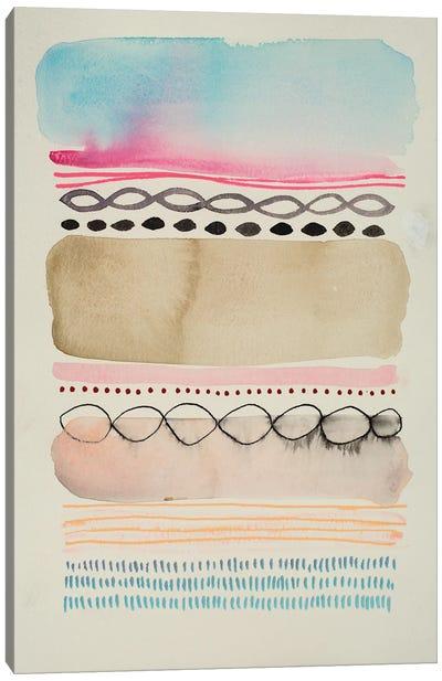 Boundary II Canvas Art Print
