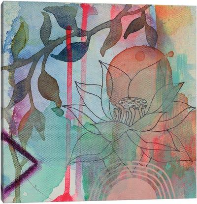 Calm Lotus II Canvas Art Print