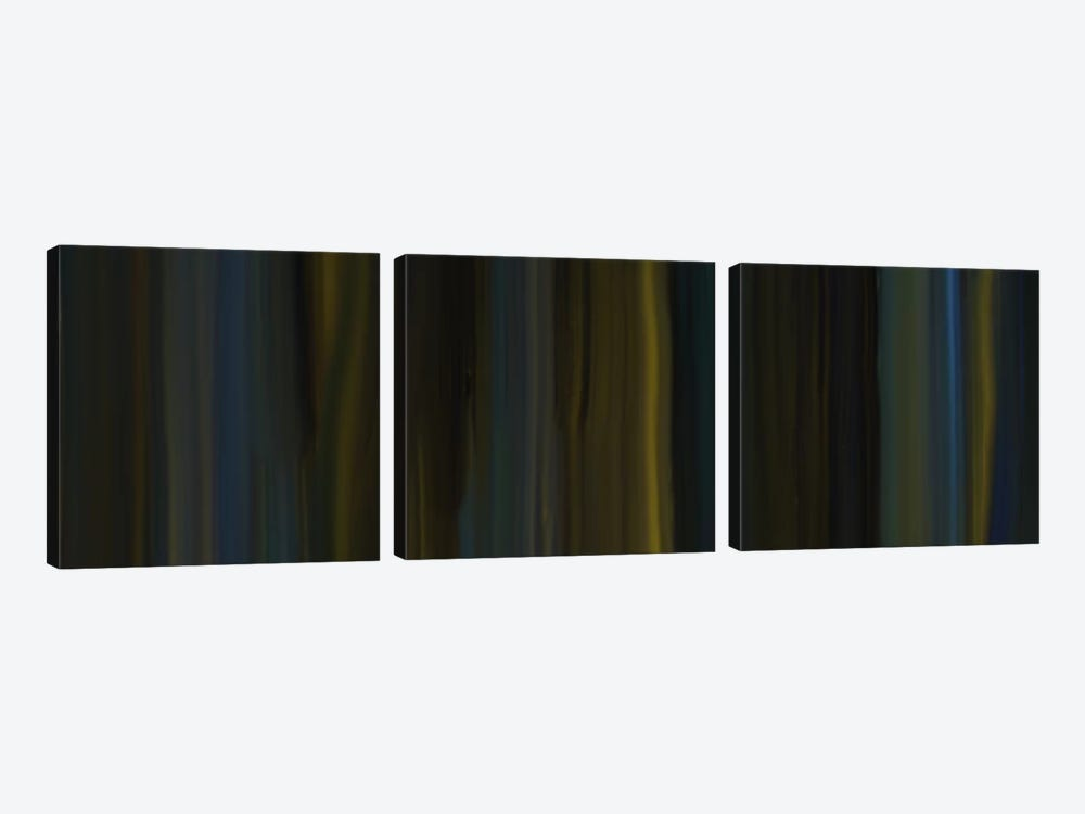 Nightly Passage by 5by5collective 3-piece Art Print