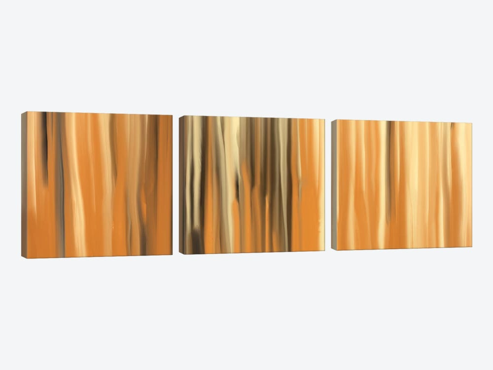 Sands of Time by 5by5collective 3-piece Canvas Artwork