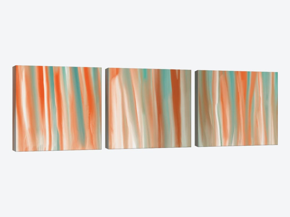 Beach Gloss by 5by5collective 3-piece Canvas Wall Art
