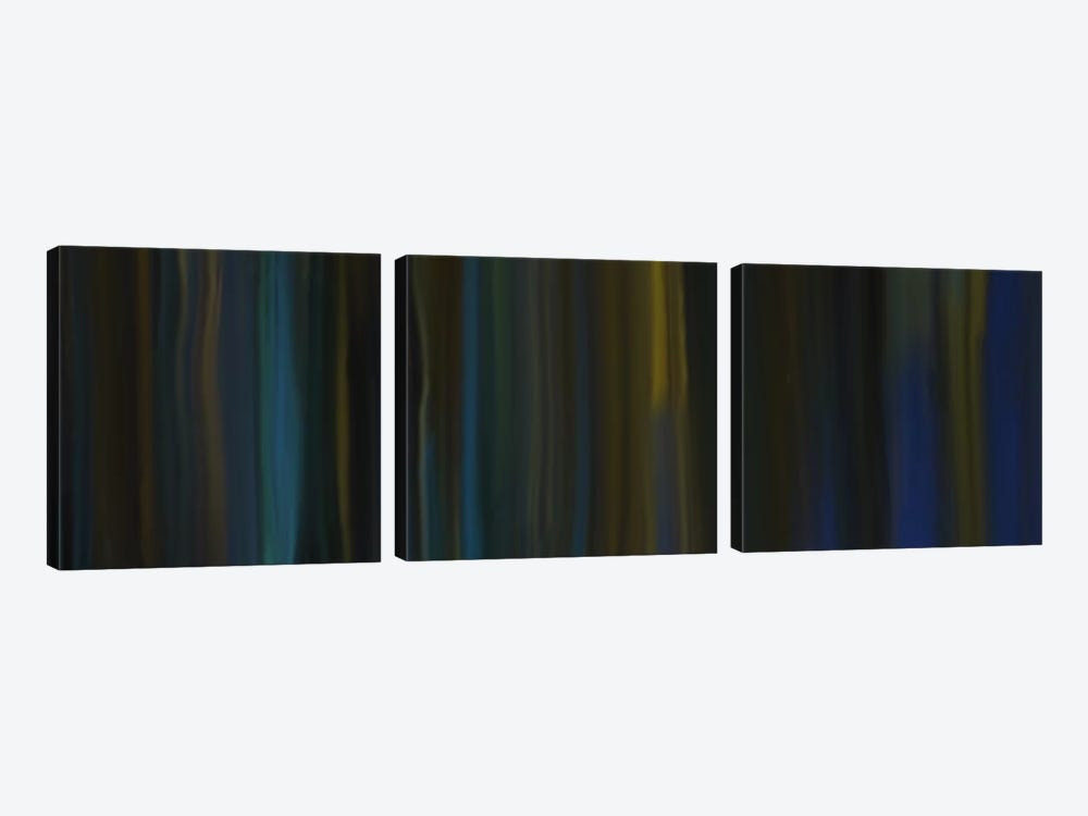 Dark Journey by 5by5collective 3-piece Canvas Artwork