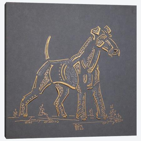 Irish Terrier Canvas Print #FFK104} by Fefa Koroleva Art Print